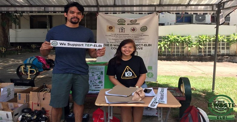 Ecology student org holds 'E-Waste Project-ELBI' with OVCCA-UPLB