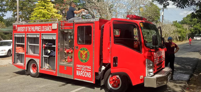 Firefighting Maroons Fire Truck, UPF Fire Brigade