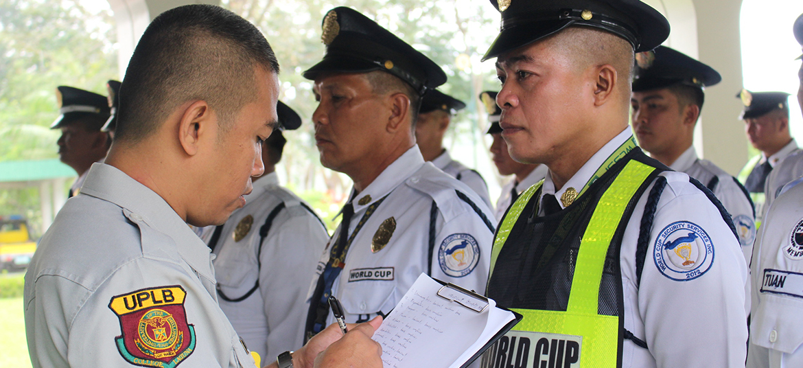 Security agency for open areas and far-flung UPLB territories