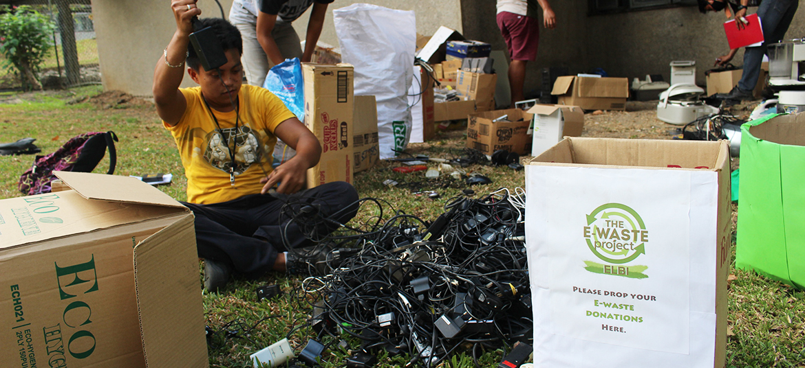 E-Waste Project-ELBI with the UP Ecology and Systematics Major Students Society