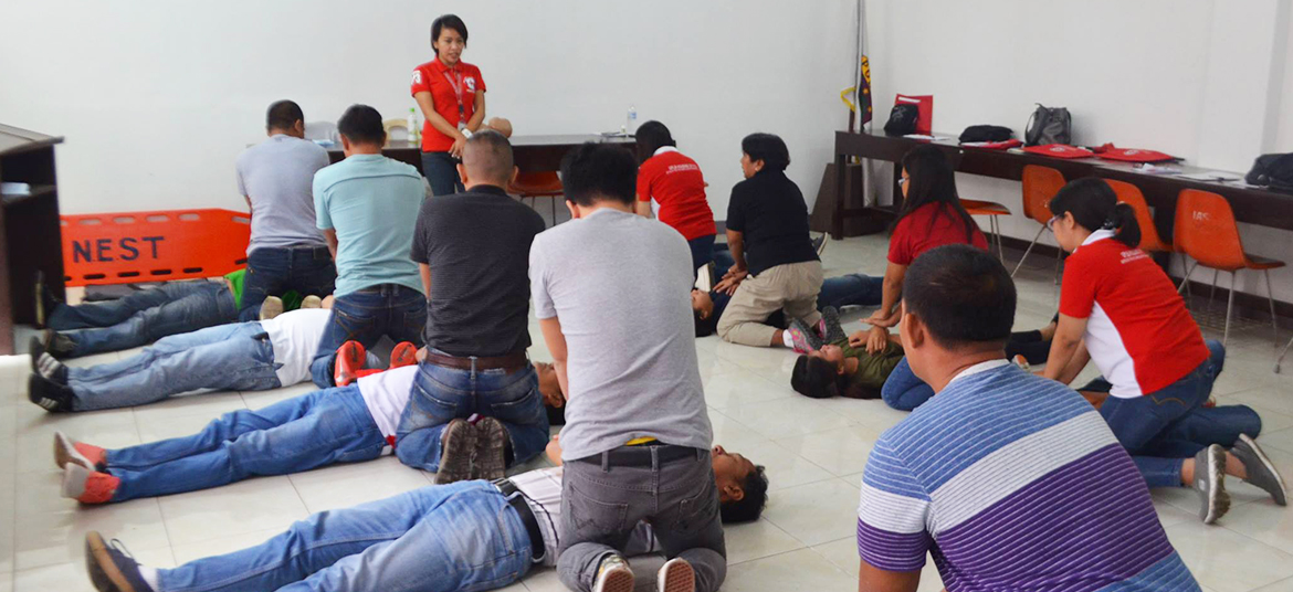 First Aid Training with the Philippine Red Cross