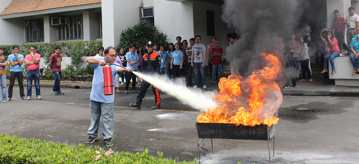 Fire and Earthquake Drills and Seminars